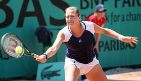 Elena BOVINA (RUS) at Roland Garros 2010 Royalty Free Stock Photo
