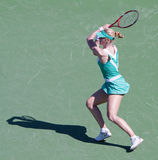 Elena Dementieva at the 2010 BNP Paribas Open Royalty Free Stock Images