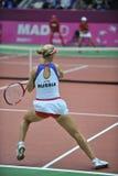 Elena Dementieva-Rússia imagem de stock royalty free