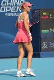 Elena Dementieva (RUS) in China opent 2009 Royalty-vrije Stock Fotografie