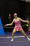 Elena Dementieva am Show-down der Meister Tenn Lizenzfreies Stockbild