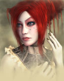 Elena, Fantasy Character 3D Stock Photography