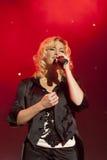 Elena Fischer en concierto Fotografía de archivo