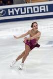 Elena Glebova, estnische Abbildung Schlittschuhläufer Lizenzfreie Stockfotografie