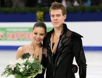 Elena ILINYKH / Nikita KATSALAPOV (RUS) Royalty Free Stock Images