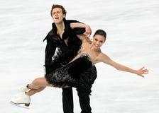 Elena ILINYKH / Nikita KATSALAPOV (RUS) Royalty Free Stock Photo