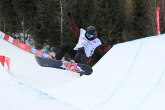 Elena Koenz - slopestyle Stock Photo