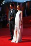 Elena Kuletskaya at Moscow Film Festival Royalty Free Stock Image