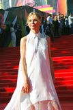 Elena Kuletskaya at Moscow Film Festival Stock Photo