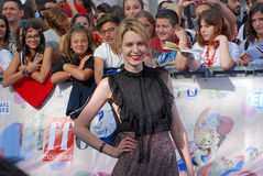 Elena Radonicich στο φεστιβάλ 2016 ταινιών Giffoni Στοκ Εικόνα