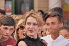 Elena Radonicich al festival cinematografico 2016 di Giffoni Fotografie Stock Libere da Diritti