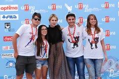Elena Radonicich at Giffoni Film Festival 2016. Giffoni Valle Piana, Sa, Italy - July 16, 2016 : Elena Radonicich at Giffoni Film Festival 2016 - on July 16 Royalty Free Stock Image