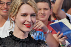 Elena Radonicich at Giffoni Film Festival 2016 Royalty Free Stock Image