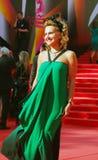 Elena Starostina at Moscow Film Festival Stock Image