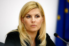 Elena Udrea Stock Photo