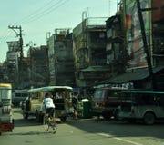 Elendsviertel von Manila, die Philippinen Lizenzfreie Stockfotos
