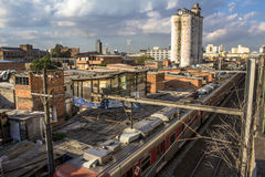 Elendsviertel von Moinho Lizenzfreie Stockfotos