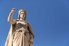 Eleonora D'Arborea monument Royalty Free Stock Image