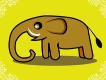 Elephant 02. Illustration of an elephant Stock Illustration