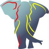Elephant. Abstract illustrated image of elephant Stock Image