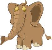 Elephant. Animals animation eyes mammal toy Stock Photography