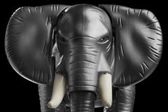 Elephant. A mean looking toy elephant (african Stock Images