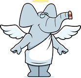 Elephant Angel Stock Photography