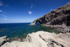 Elephant arc. A view of Elephant arc Pantelleria,Italy Stock Photo