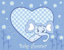 Elephant for a baby boy Stock Photo