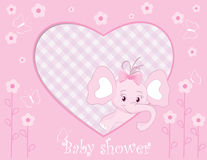 Elephant for baby girl Royalty Free Stock Photography