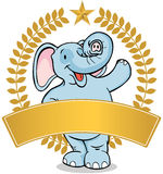 Elephant - banner Royalty Free Stock Photos