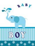 Elephant blue  Royalty Free Stock Image