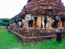 Elephant brick Royalty Free Stock Photography