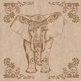 Elephant brown Royalty Free Stock Photography