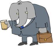 Elephant Business Stock Image