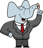 Elephant Businessman Stock Images