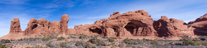 Elephant Butte and Cove of Caves royalty free stock photos