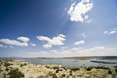 Elephant Butte Lake State Park Stock Photography