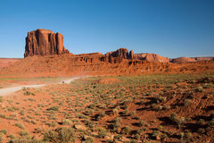 Elephant Butte in Monument Valley Stock Photo