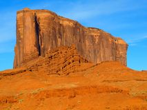 Elephant Butte in Monument Valley Stock Photography