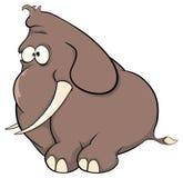 A elephant calf cartoon Royalty Free Stock Images
