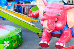 Elephant carousel Royalty Free Stock Photography