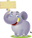 Elephant cartoon Royalty Free Stock Photo