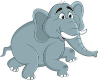 Elephant cartoon Royalty Free Stock Image