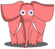 Elephant cartoon Royalty Free Stock Photos