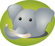 Elephant cartoon Stock Photography