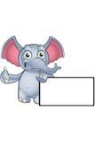 Elephant Cartoon Character Royalty Free Stock Photos