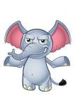 Elephant Cartoon Character Stock Photo