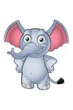 Elephant Cartoon Character Stock Photography