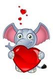 Elephant Cartoon Character Royalty Free Stock Photography
